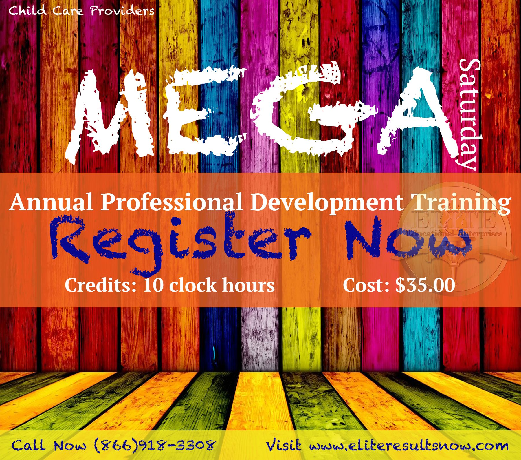 MOST POPULAR! Annual clock hour training all