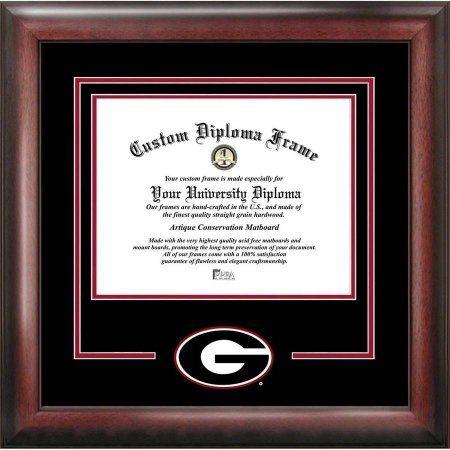 Georgia Bulldogs 12 inch x 15 inch Spirit Diploma Frame