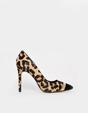 asos leopard print heels