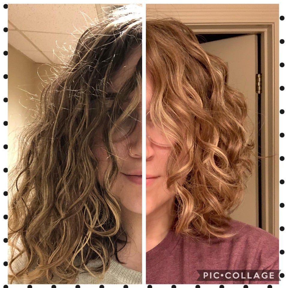First Picture Routine Co Wash With Generic Value Products Tea Tree Special Conditioner From Sally S Lea Second Day Hairstyles Short Wavy Hair Natural Wavy Hair
