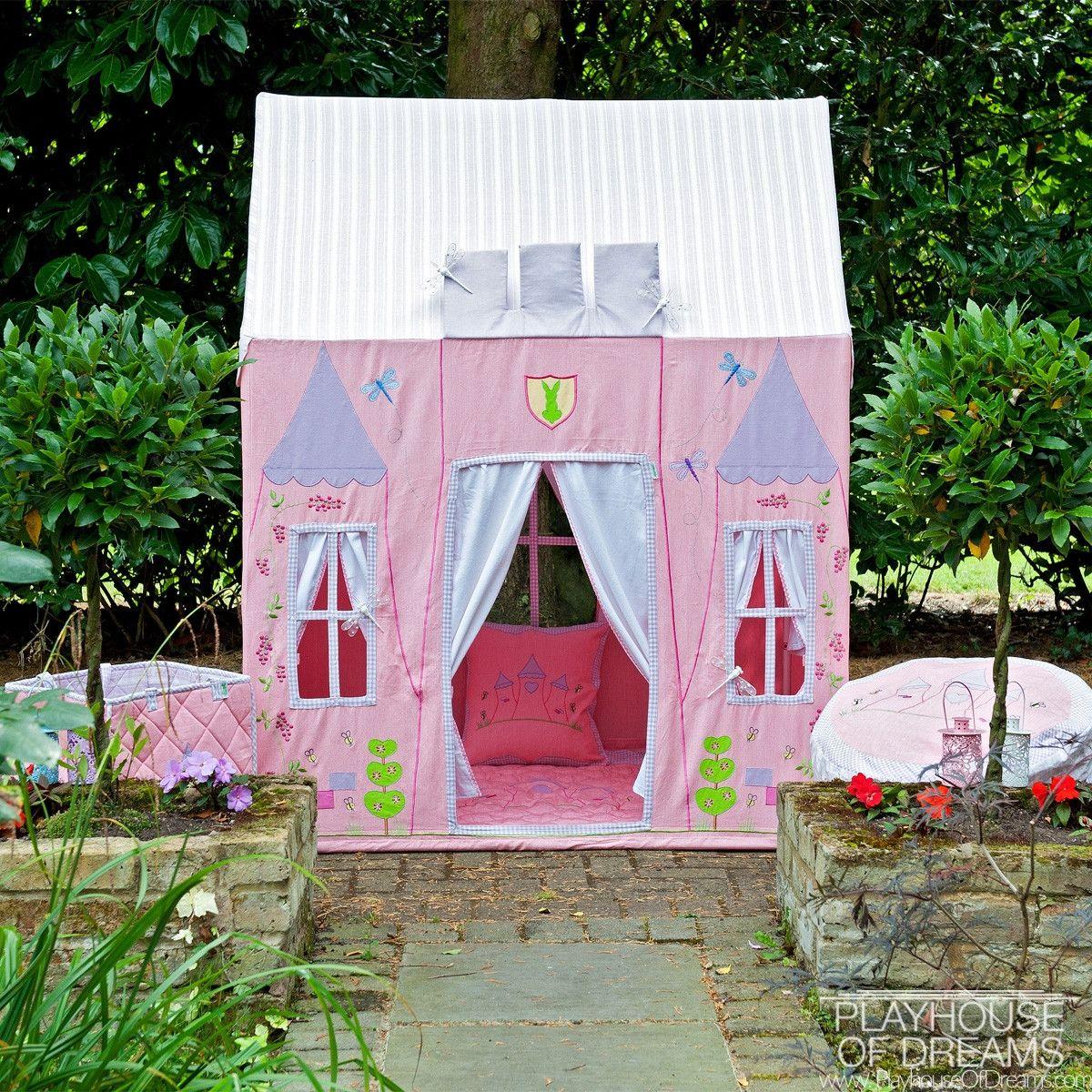 Win Green Handmade Cotton Princess Castle Playhouse | lits ...