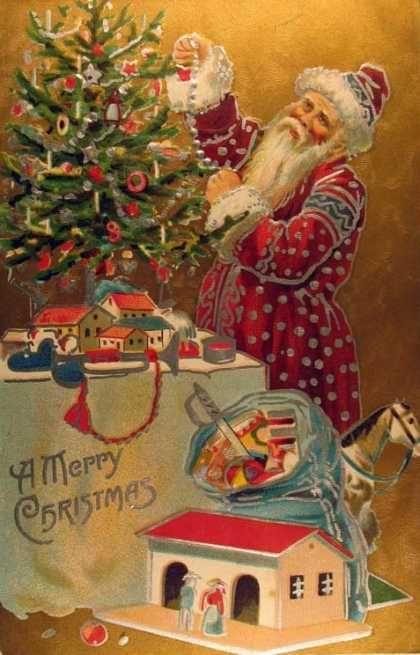 vintage christmas postcards - Google Search | Vintage Christmas ...