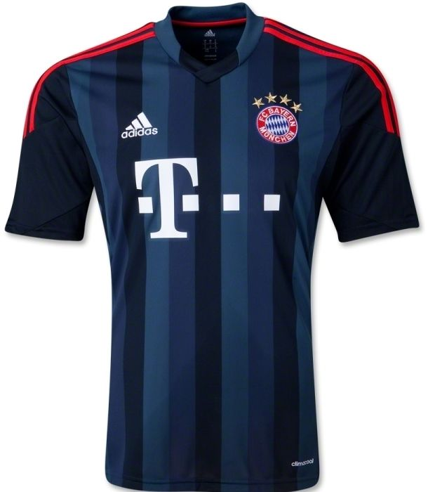 New Bayern Munich Third Kit 2013 14- FC Bayern Adidas Champions League  Jersey 2013 2014 7dfcf408f0f92
