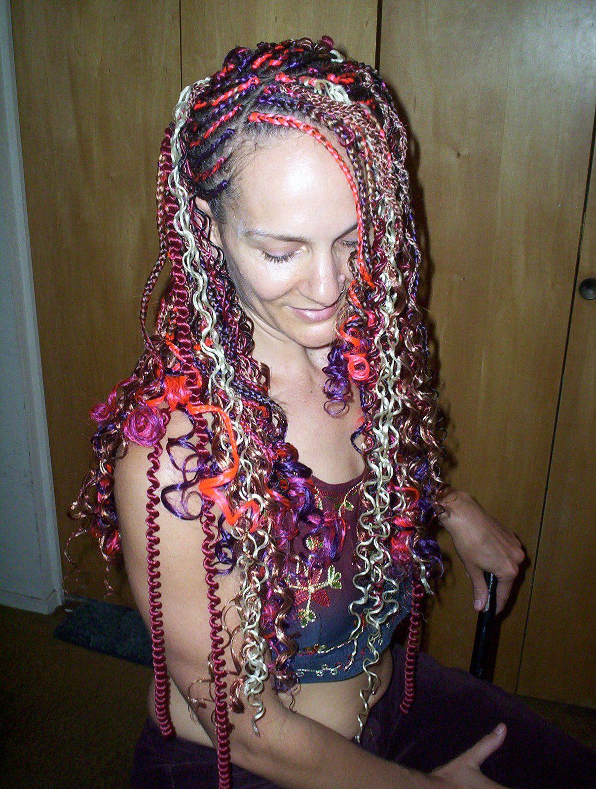 Made Me Think Of Mardi Gras Fashion Pinterest Hair Styles