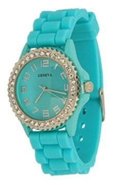 http://monetprintsgallery.com/aqua-ceramic-style-silicone-gel-band-crystal-watch-p-1948.html