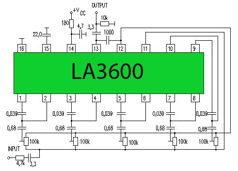 5 Channel Equalizer La3600 Updated One Type Of Preamp Tone Tone Controls Are The Audio Graphic Equaliz Equalizer Electronics Circuit Electronic Schematics