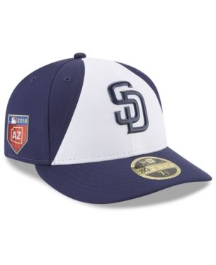 c3b061417cb94 New Era San Diego Padres Spring Training Pro Light Low Profile 59Fifty  Fitted Cap - White