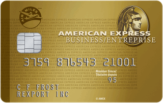 American Express Air Miles Gold Business Card Review Miles Credit Card Gold Business Card Small Business Cards