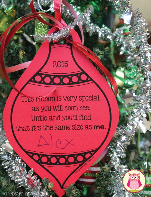 this parent gift is simple inexpensive and can be adapted for kids of all ages and abilities parents will love this keepsake ornament