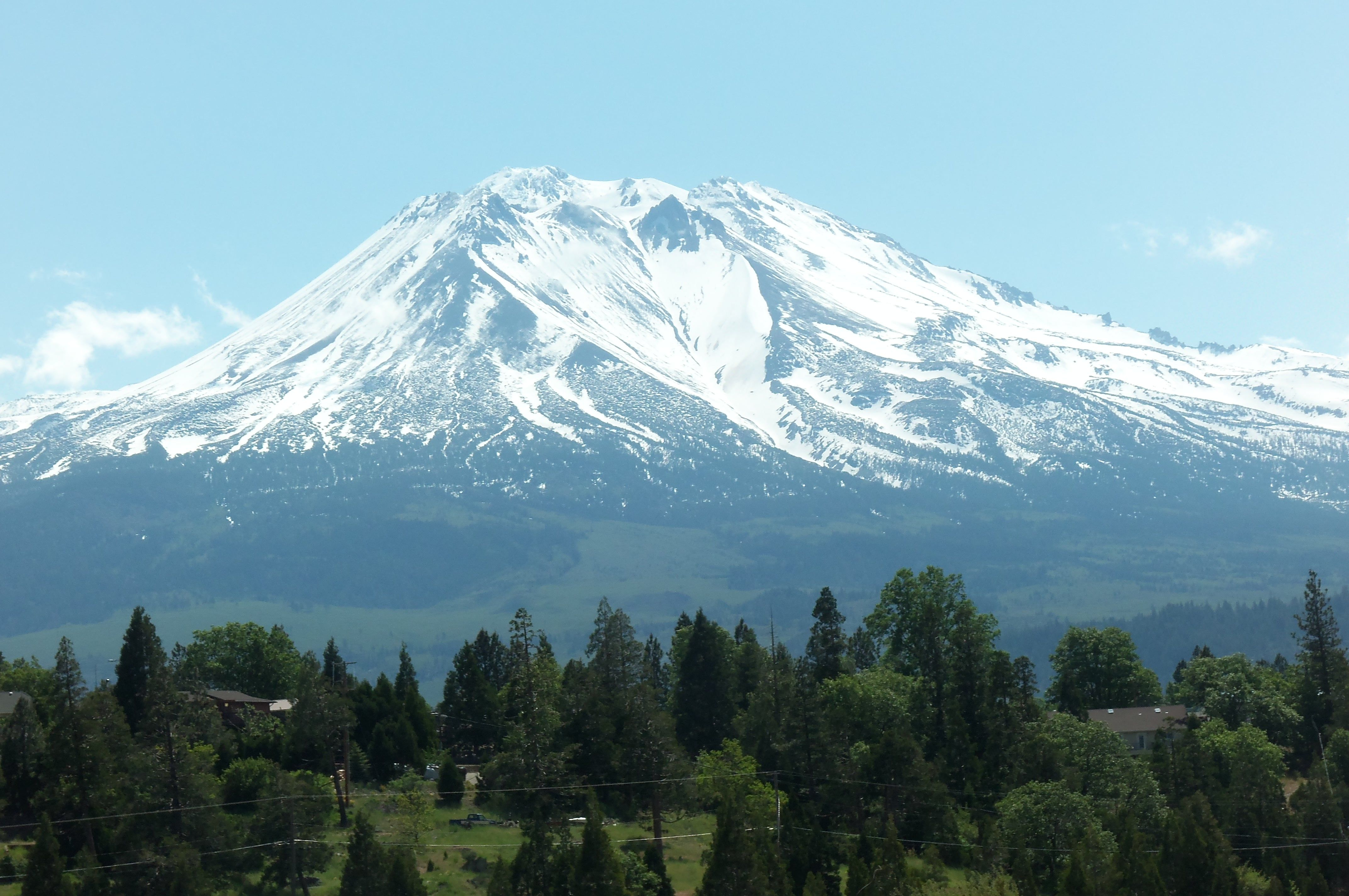 Weed, CA : View of Mt. Shasta from Weed, CA photo, picture, image (California) at city-data.com