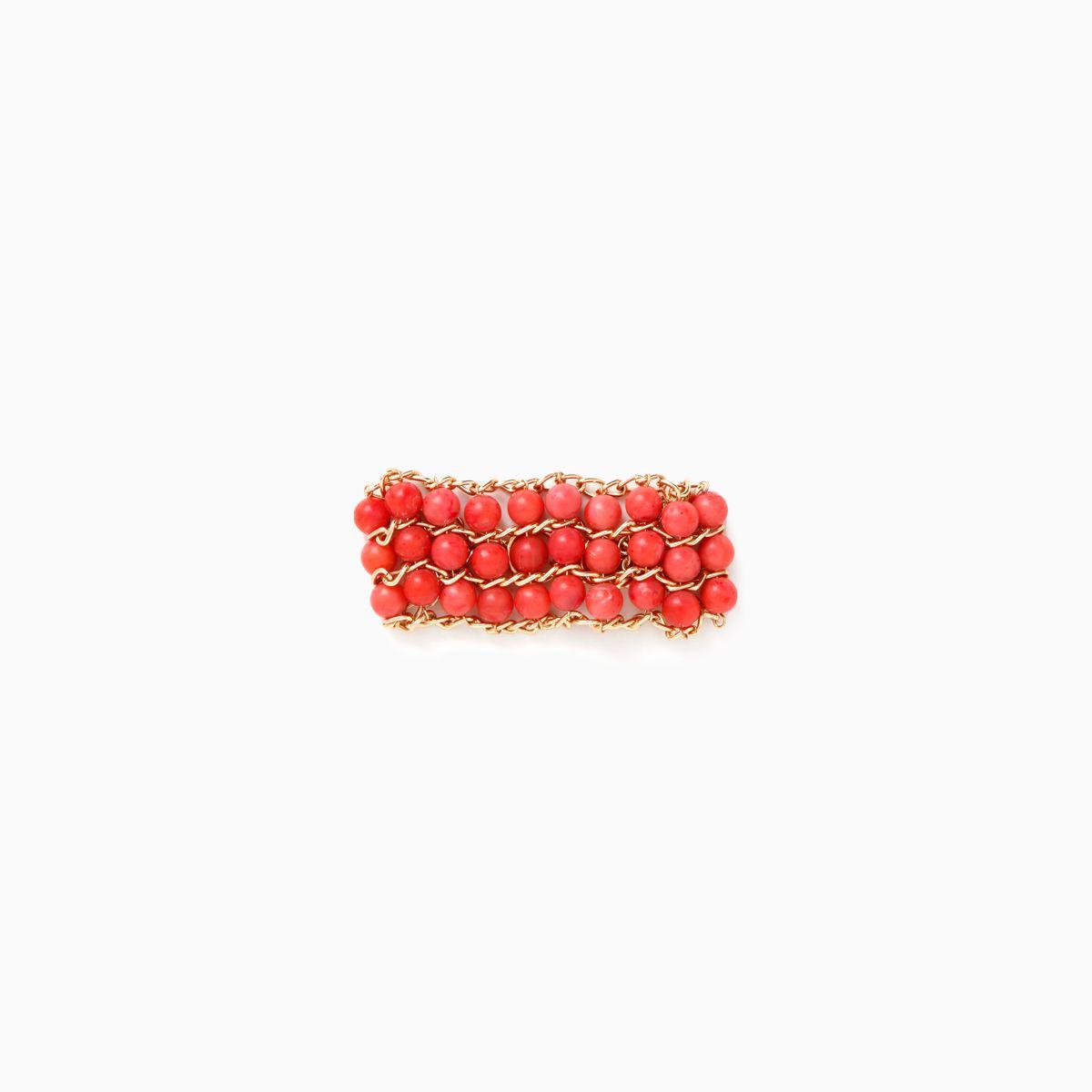 Abacus Beaded Bracelet