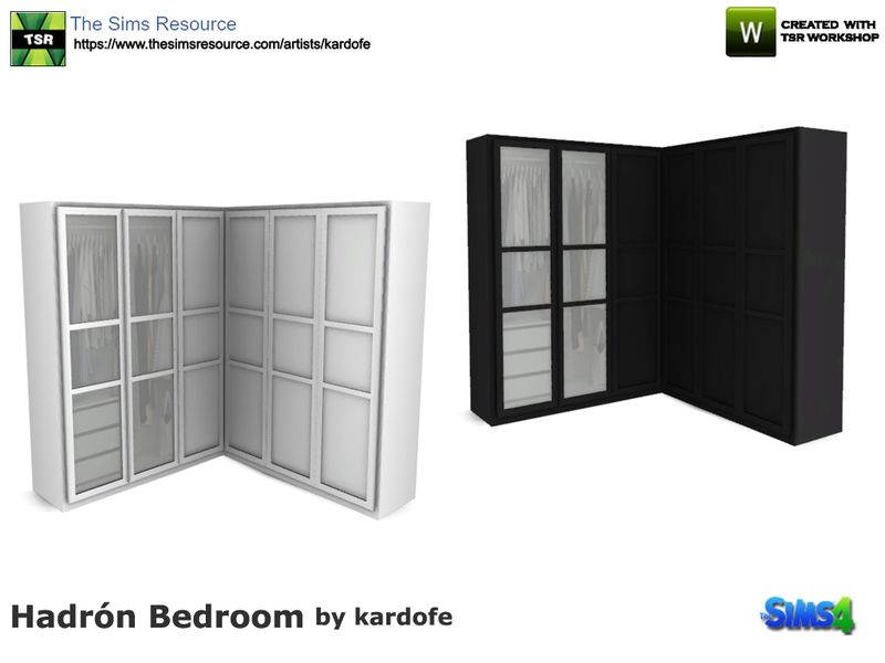Ikea Pax Series Cabinet Two Color Options Found In Tsr Category Sims 4 Bookshelves Sims 4 Kitchen Sims 4 Sims