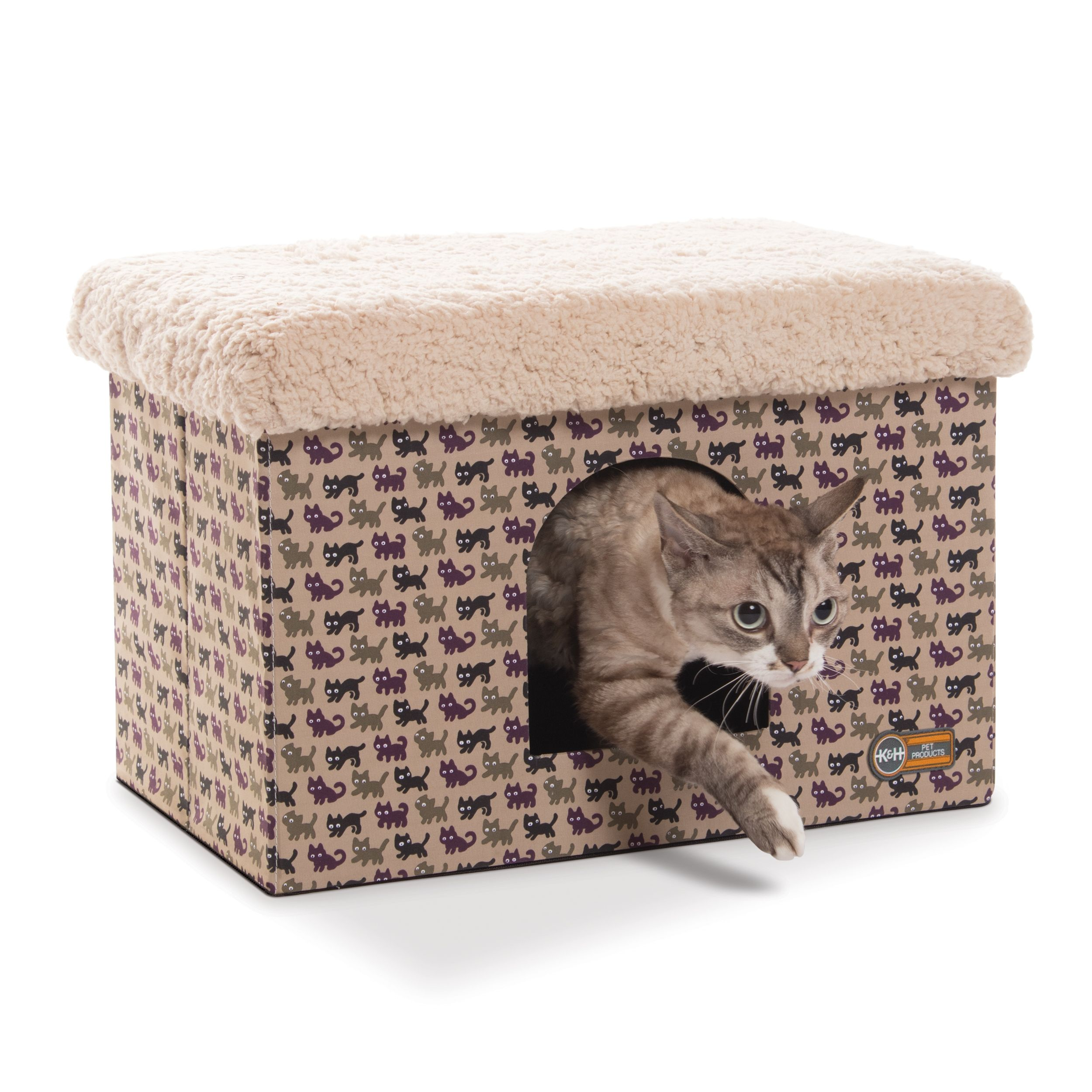 K&H Kitty Bunkhouse™ Heated cat bed, Heated cat house