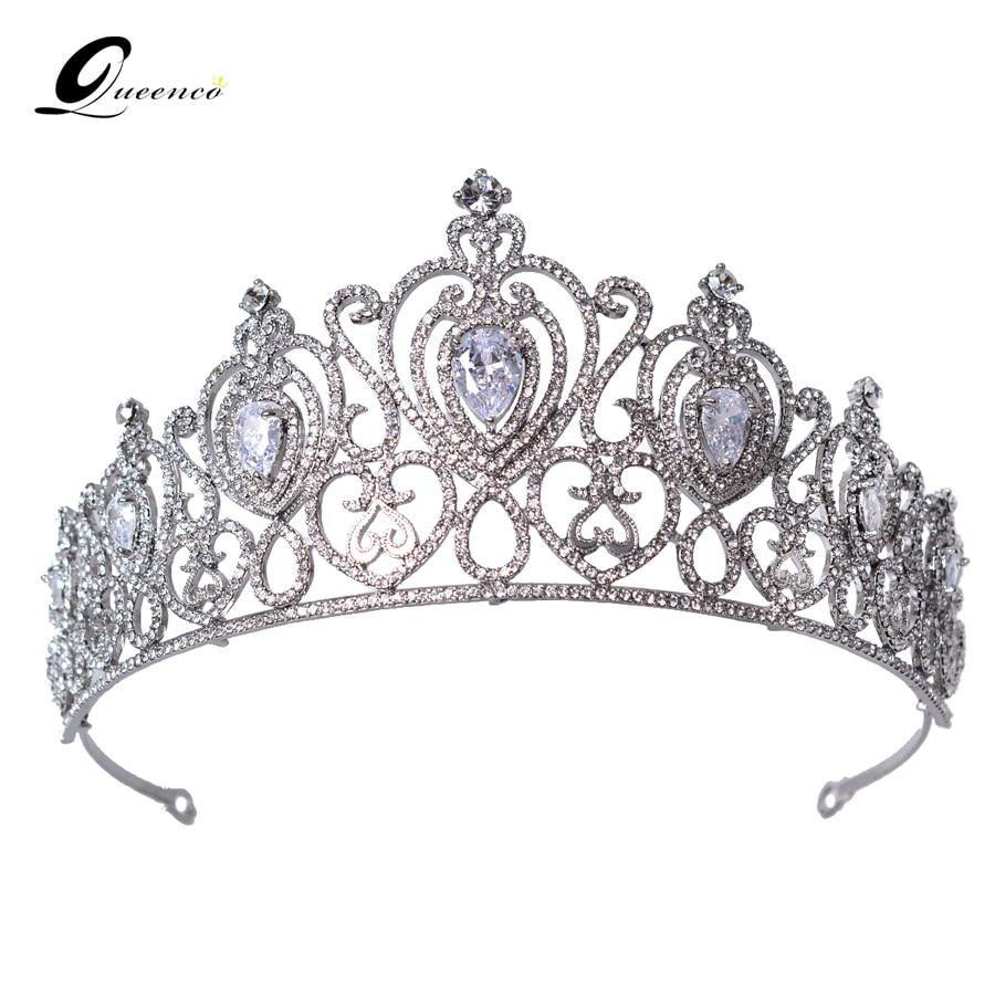 New Crystal Bridal Tiara Crown Wedding Accessories Bridal Jewelry Hair BandR  xl