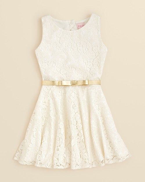 Zoe Girls Belted Fit N Flare Dress Sizes 7 16 Clothing | Infinity ...