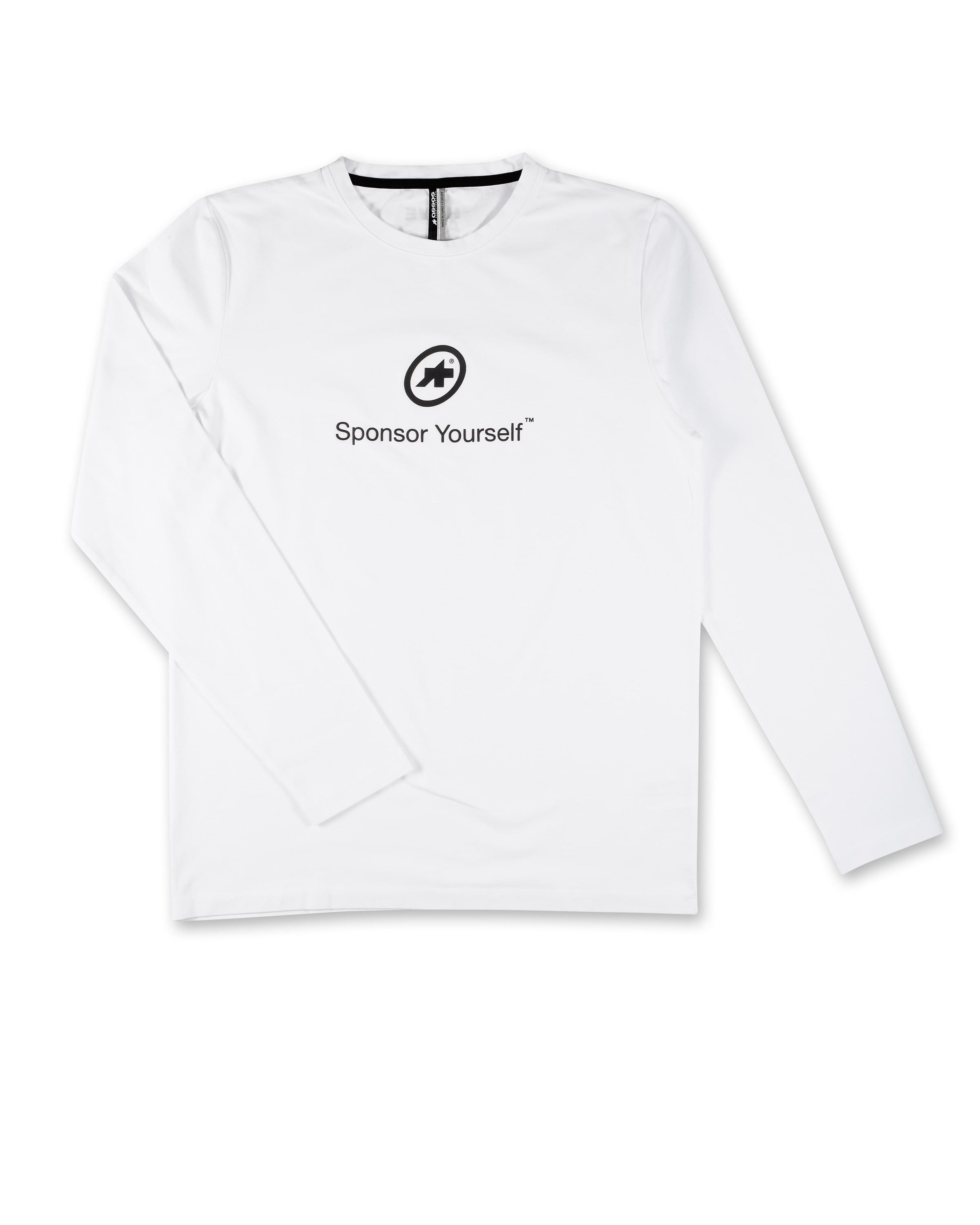 Assos T Shirt Sponsor Yourself Ls Holywhite X Large Svelte