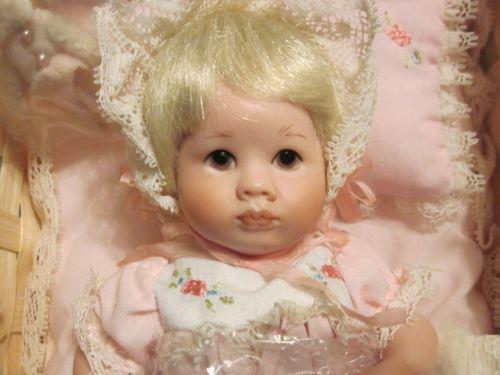 "Richard Simmons Beloved Babies ""Rose's Layette"" Doll NRFB Goebel"