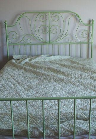 Misadventures In Rusting Ikea Bed Frames Bedding Inspiration