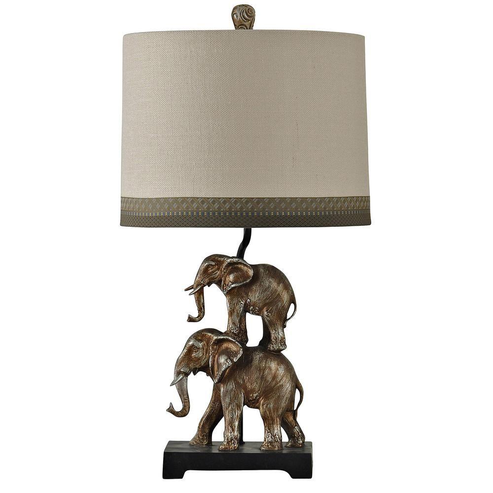 Elephant Base Table Lamp