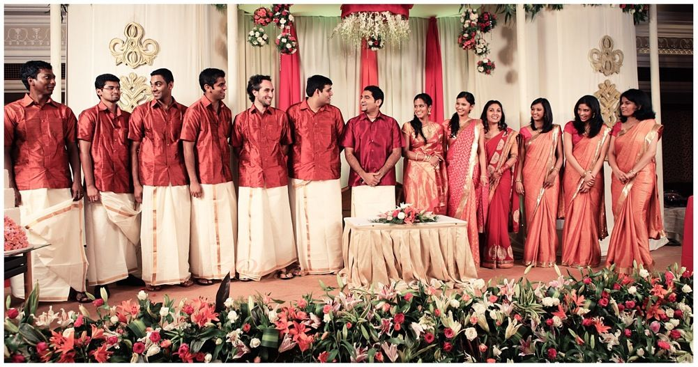 Kerala Christian Wedding Flower Girls Sonam & vivek's