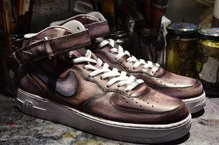 Nike Airforce1 patina by Paulus Bolten ask your click on the