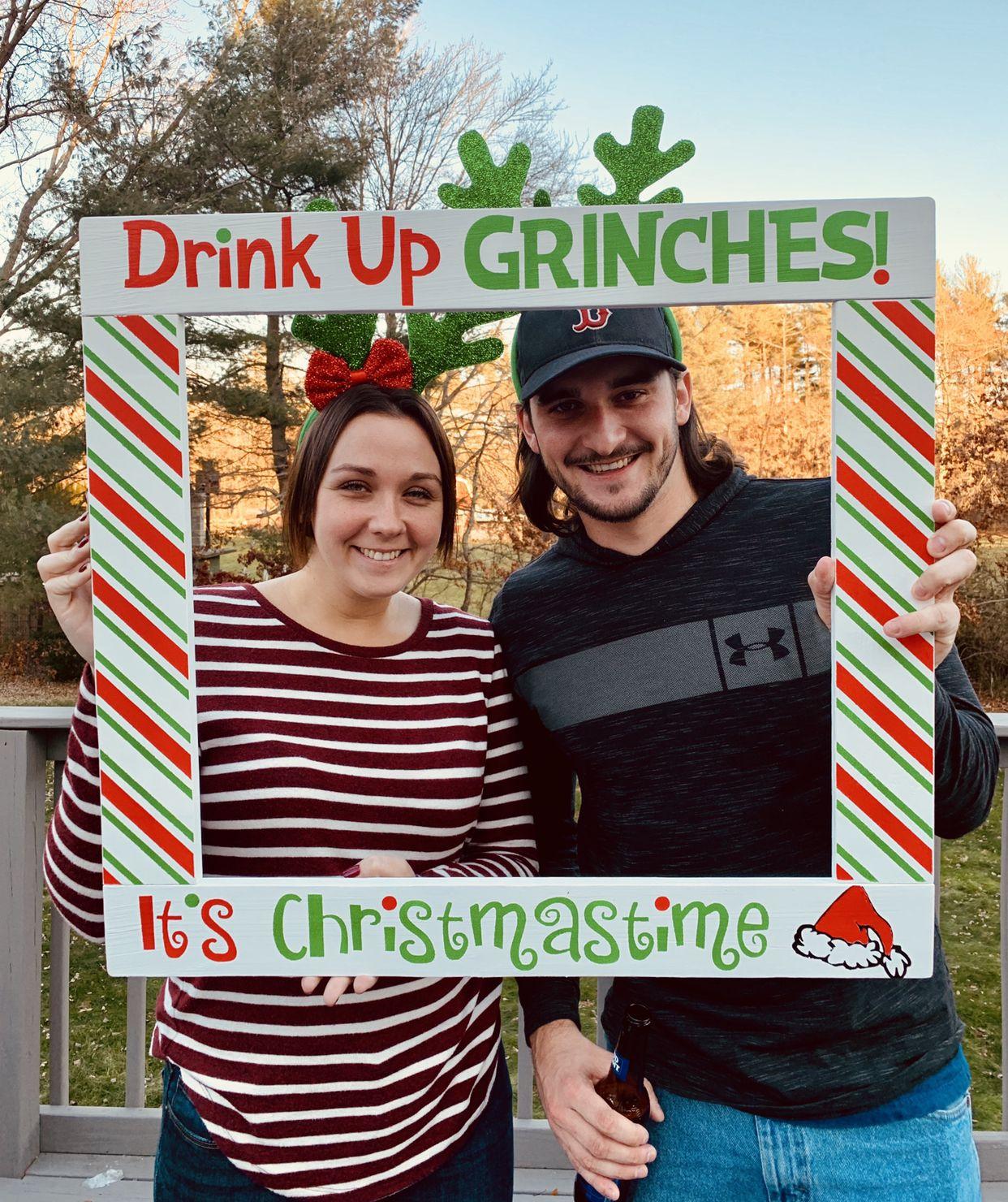 Christmas Photo Booth Holiday Grinch Photobooth Christmas