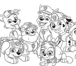 paw patrol everest coloring page - free coloring pages online in 2020   paw patrol coloring