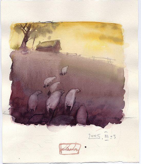 Sheeps reterns by Anton Kabakov