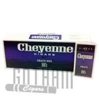 Cheyenne Filtered  Grape 100's Cigars offer a strong smoke and distinct fruity flavor that have captured the hearts of smokers around the world. Cheyenne Grape cigars use homogenized wrappers and short filler tobacco that is domestically produced in the USA. These amazing cigars are perfect for a short break in the evening either alone or with other cigar enthusiasts. #cheyenne #filteredcigars #grape