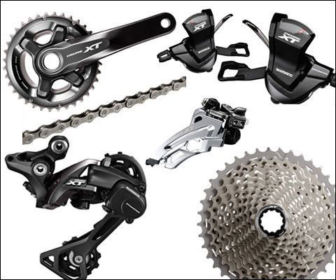 Shimano XT M8000 2x11 Drivetrain 11 Speed Group Kit | shimano