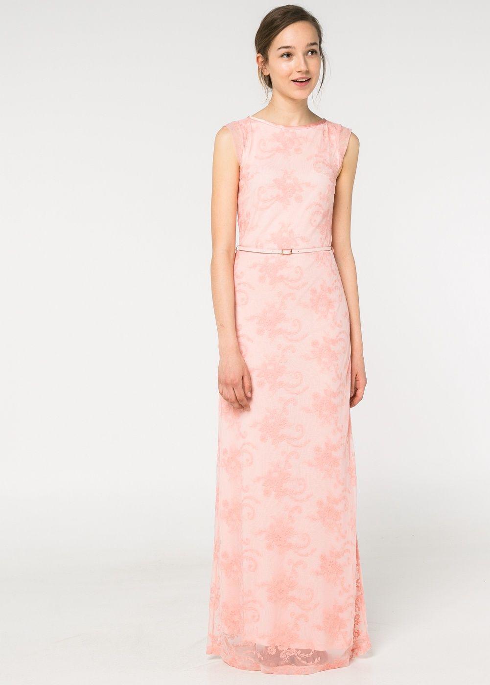Vestido tul bordado - Mujer | Pinterest | Vestido tul, Tul y Mango