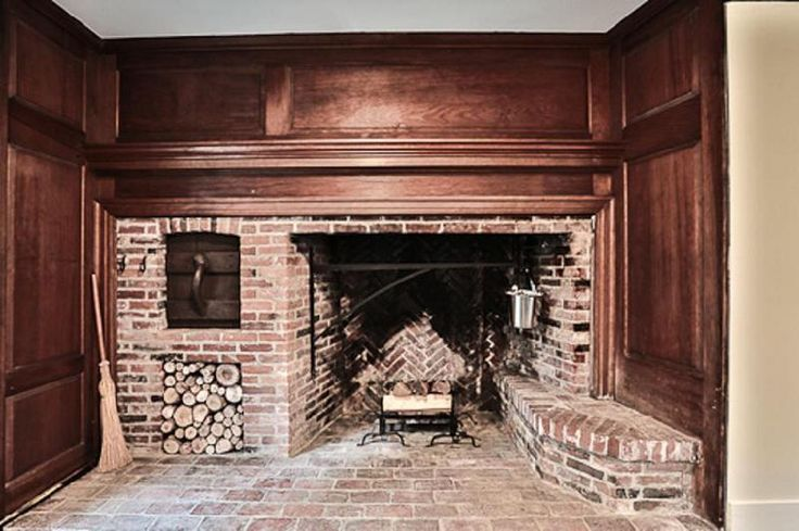 Colonial Fireplace Cooking Room Historic 1808 New Hampshire Home