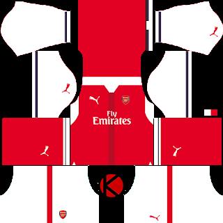 Arsenal Kits 2016 2017 Dream League Soccer 2017 Soccer Kits Soccer Arsenal Kit