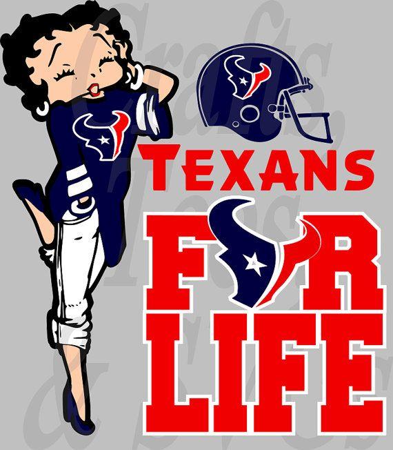 betty boop texans shirt
