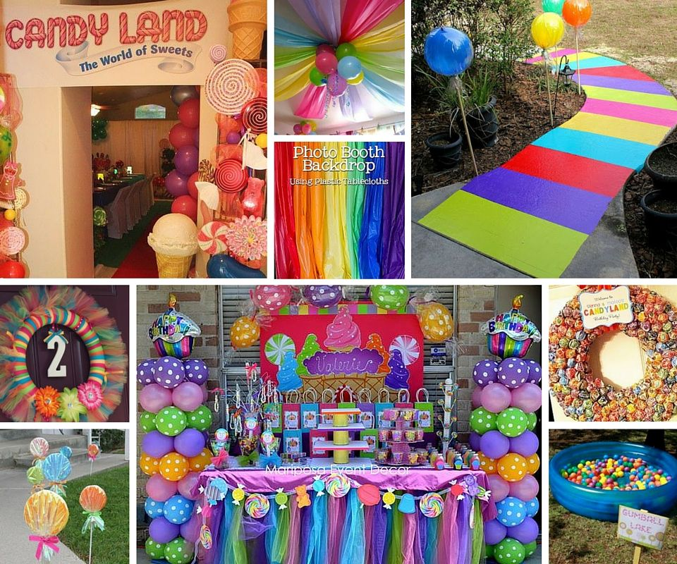 Candyland Decor | Maisie\'s 1st Birthday | Pinterest | Candyland ...
