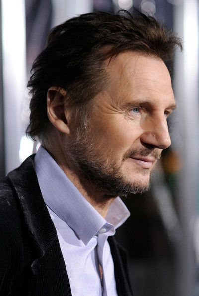 liam neeson. he has back dimples. c;