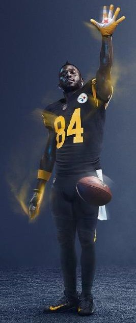 antonio brown jersey color rush