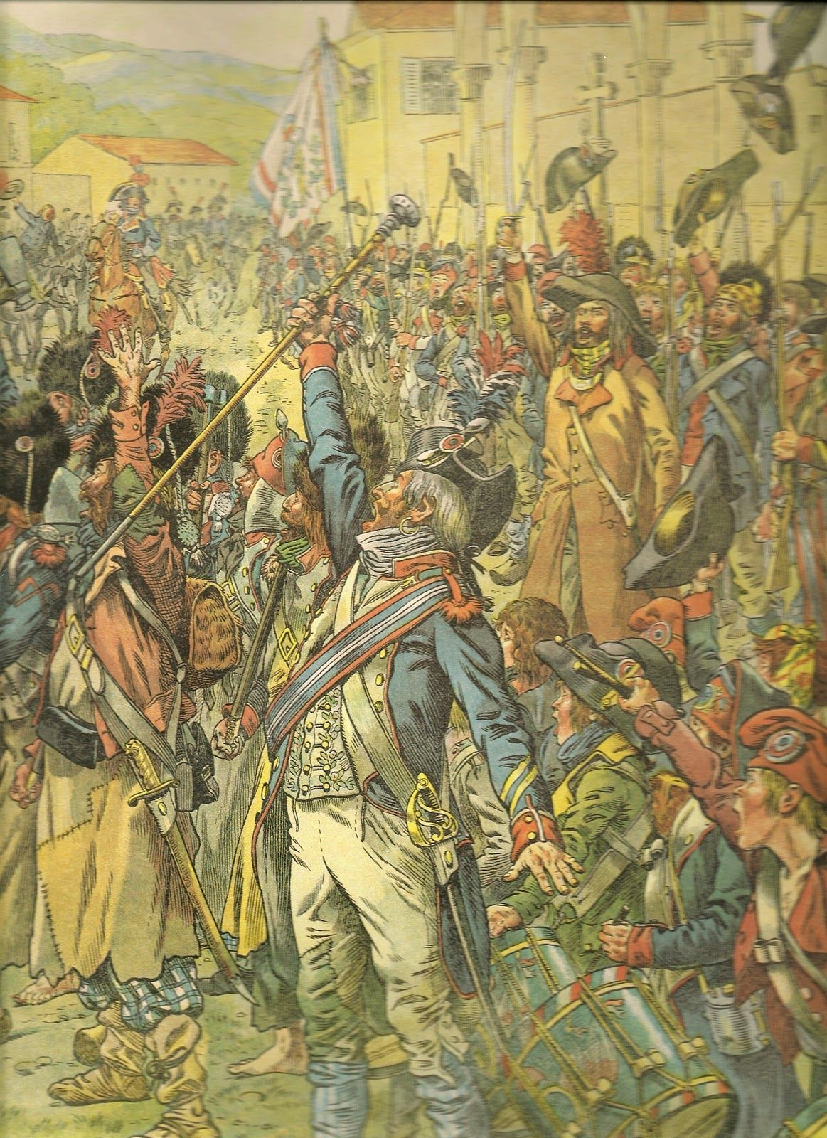 Victory celebrations - Italian Campaign 1800