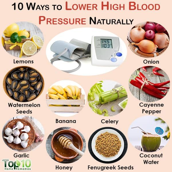 how to lower blood pressure at home