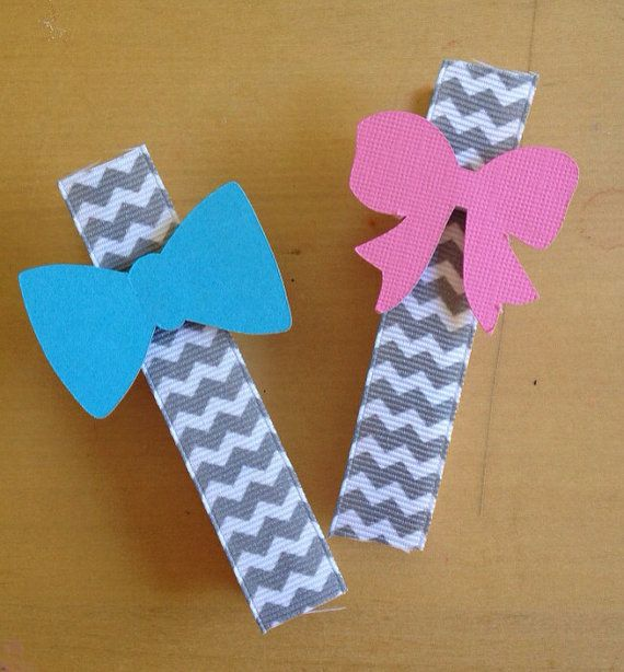 Gender Reveal Party by PaperLaneDesign on Etsy