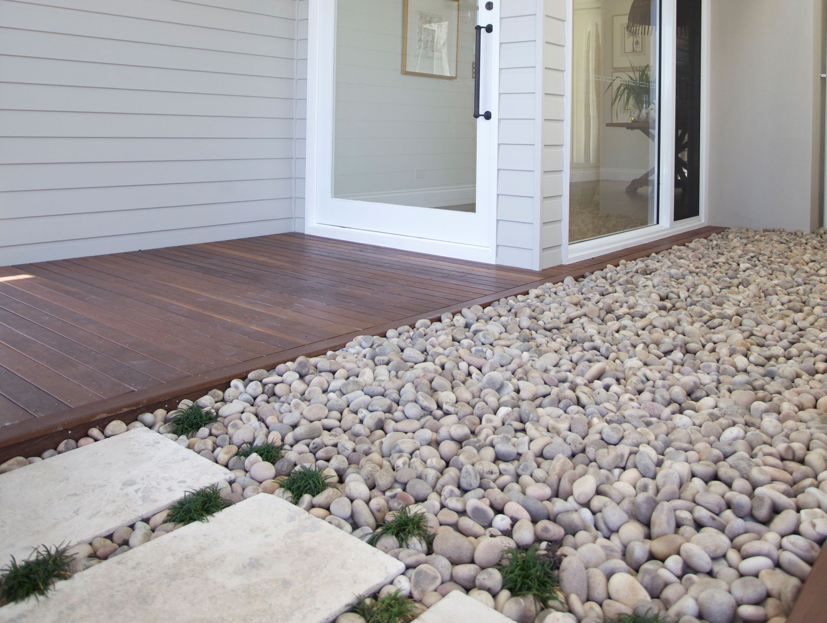 Eggshell Pebbles Natural Stone Flooring By Natural Stone Flooring Stone Flooring Outdoor Flooring