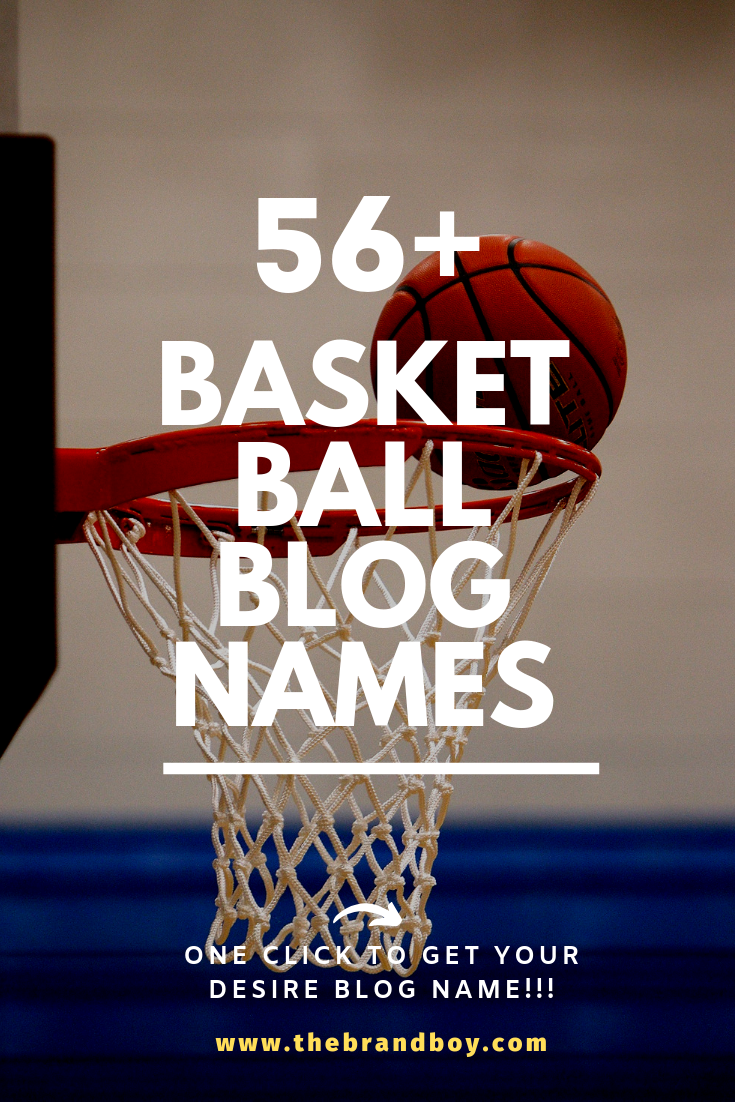 101 Top Basketball Blogs And Pages Names Ideas Thebrandboy Blog Names Team Names Names