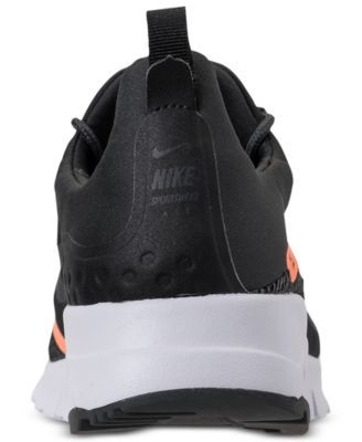 watch ac810 50cbc Nike Women s Air Max Motion Racer 2 Running Sneakers from Finish Line -  Black 8.5