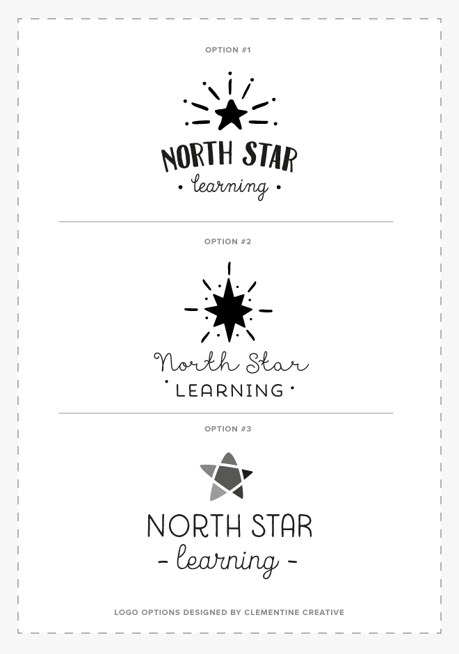 New Work North Star Learning In 2020 Star Logo Design Learning