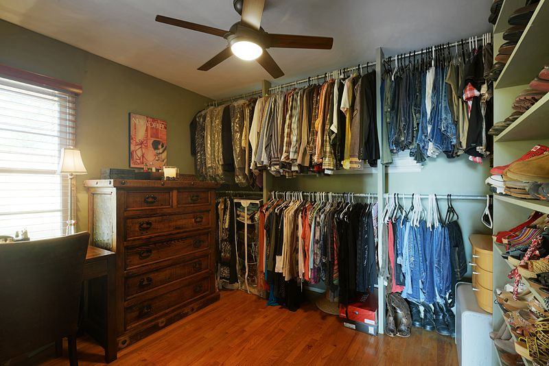 2nd bedroom converted to LARGE walk in closet!   Small ...