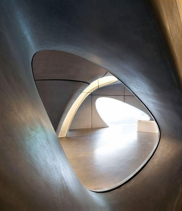 The Roca Gallery in London  by Zaha Hadid