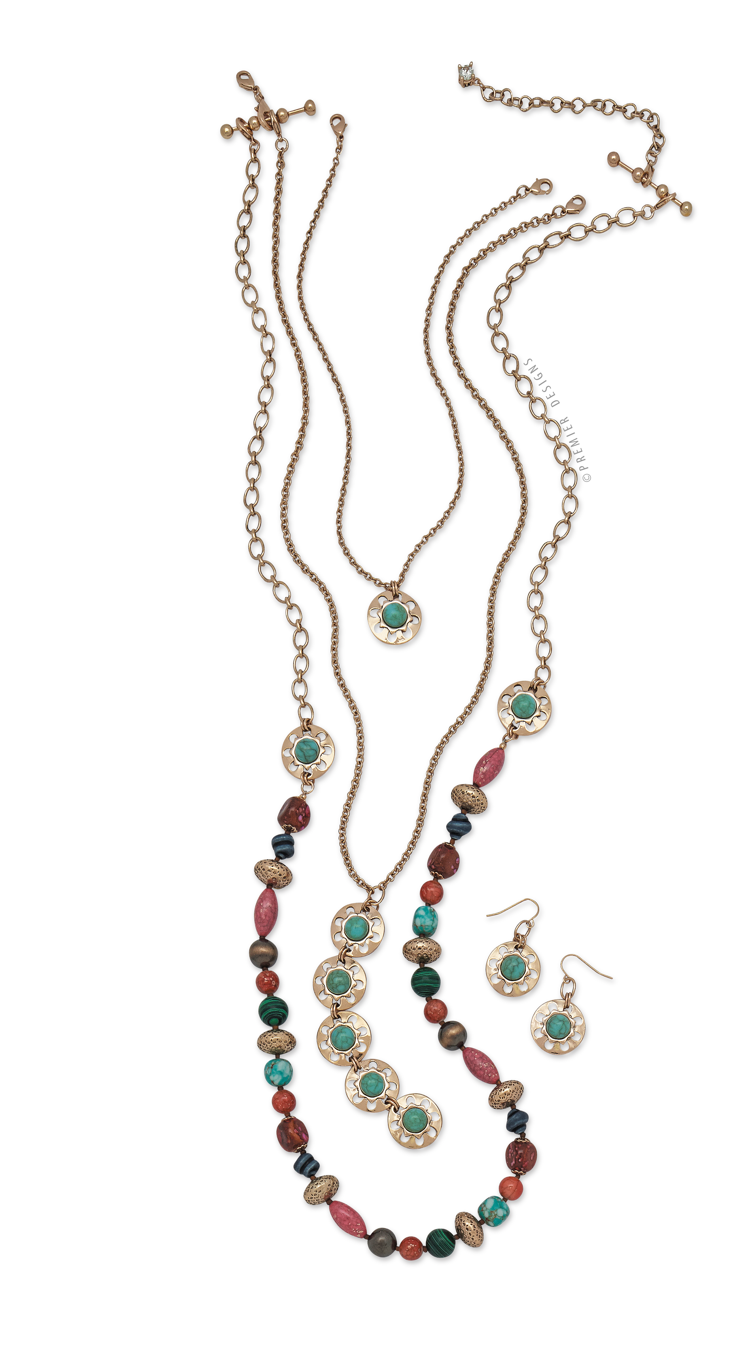Premier Designs Swap It Out Necklace and Earrings