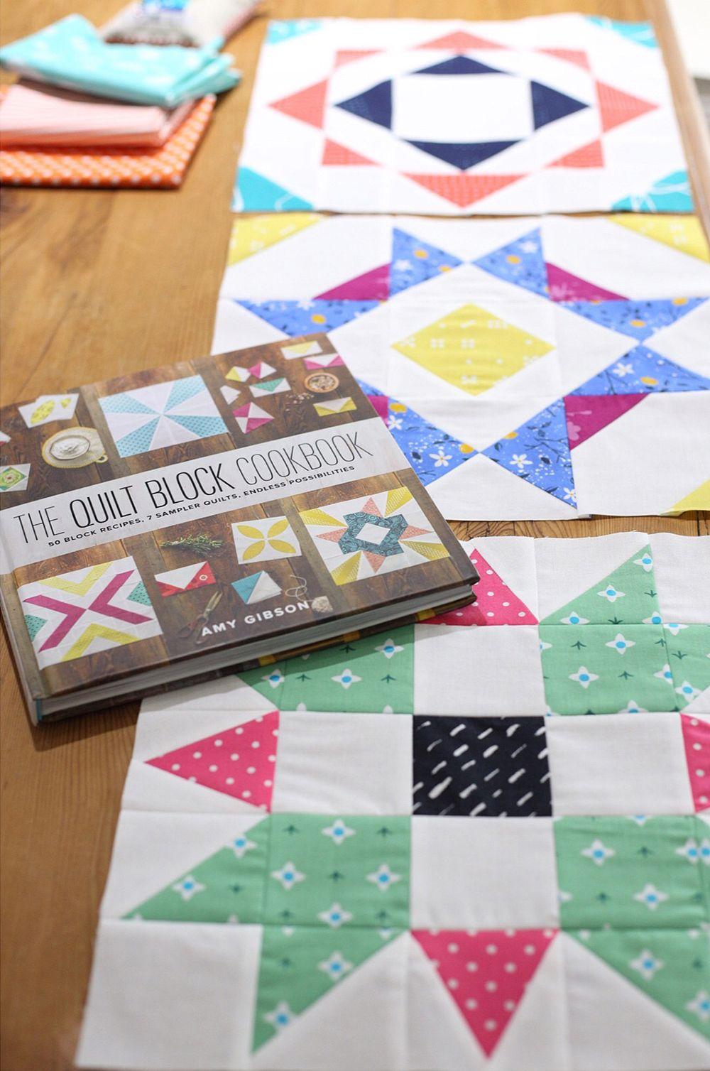 The Quilt Block Cookbook by Amy Gibson : Fresh Lemons Quilts ... : the quilt sampler - Adamdwight.com