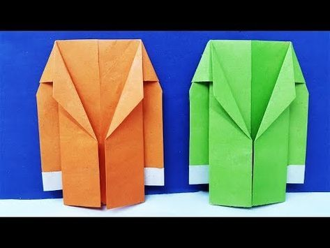 Photo of How to make a Paper Coat Easy | Origami suit Jacket Tutorial