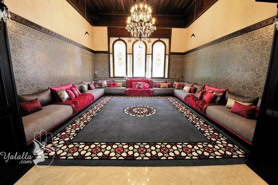 Pin By Sasue Ai On Salon Marocain Living Room Design Decor Moroccan Living Room Home Deco